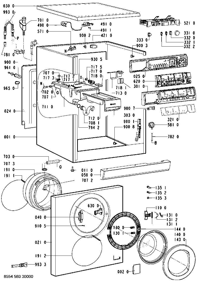 wak 7551 bauknecht waschmaschine ersatzteile und zubeh r shop. Black Bedroom Furniture Sets. Home Design Ideas